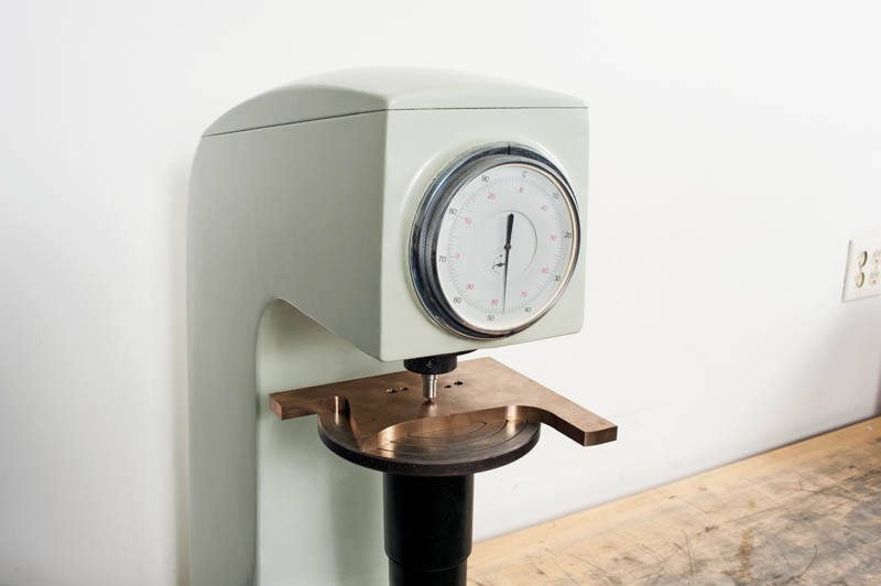 Our hardness tester verifies material properties, assuring you of a top-notch product that perform for years to come.